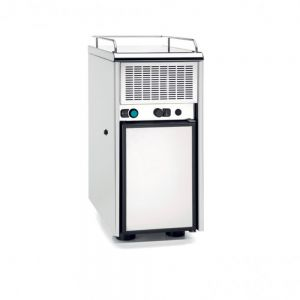 Faema Stainless Steel Slim Refrigerated Unit with compressor
