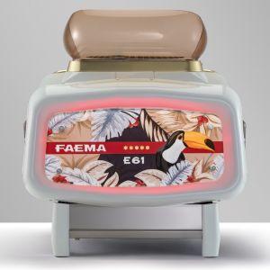 FAEMA E61 Jubilè White Wood A/1 Commercial coffee machine