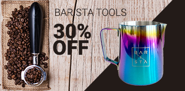 Barista tools and accessories 30% off