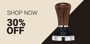 Barista Wood Tampers 30% off